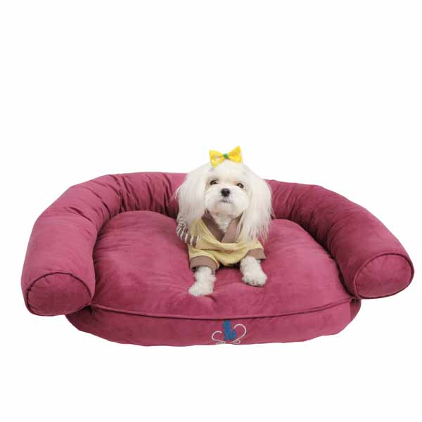 Comfort Zone Dog Bed by Pinkaholic - Purple
