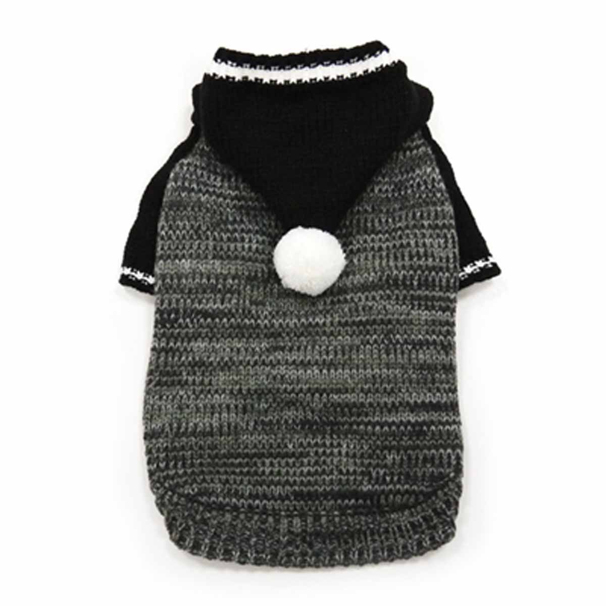 Contrast Hoodie Dog Sweater by Dogo - Black with Same Day Shipping ...