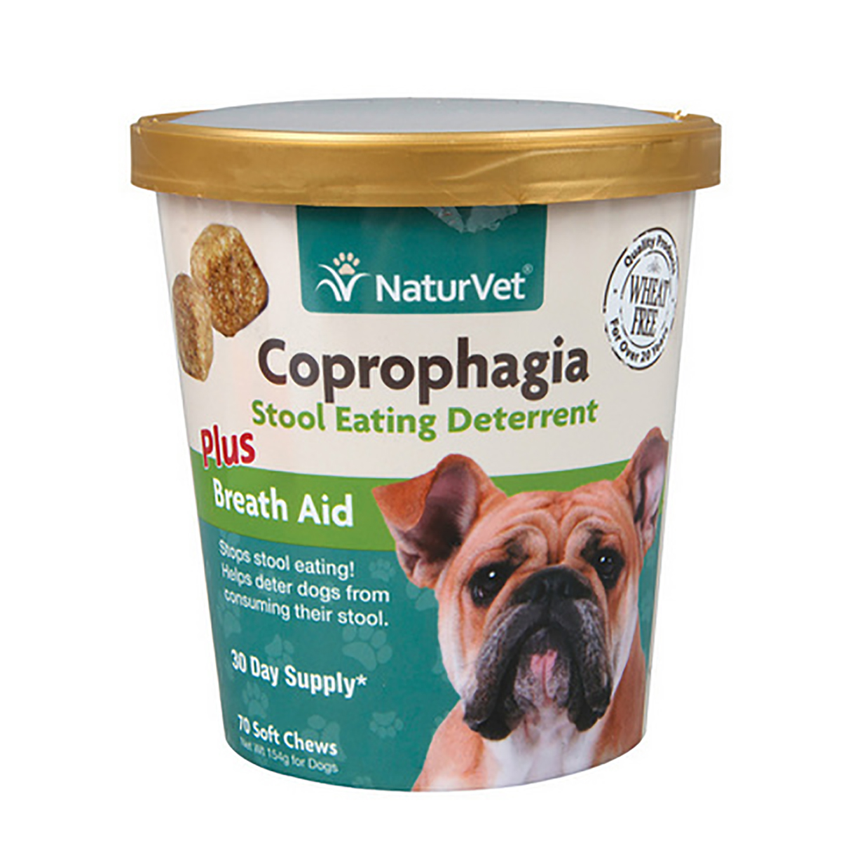 Coprophagia Plus Breath Aid Soft Dog Chew By Naturvet With