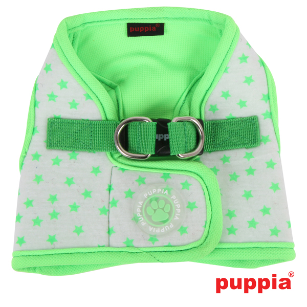 Cosmic Dog Harness by Puppia - Green