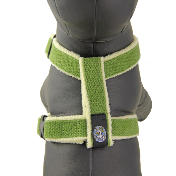 Cozy Hemp Harness by Planet Dog - Apple Green