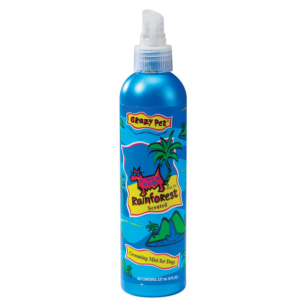 Crazy Dog Grooming Spray Cologne - Rainforest