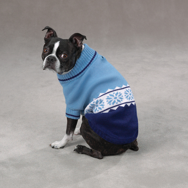 Cross Country Dog Sweater - Blue