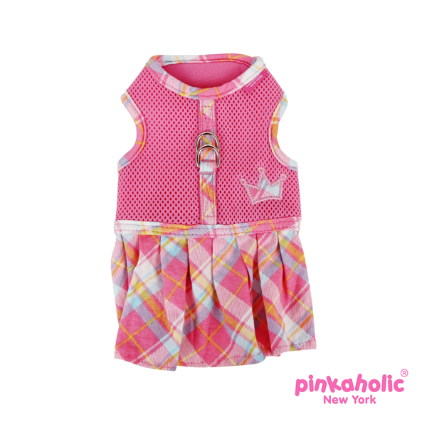 Dainty Flirt Dog Harness Dress by Pinkaholic - Pink