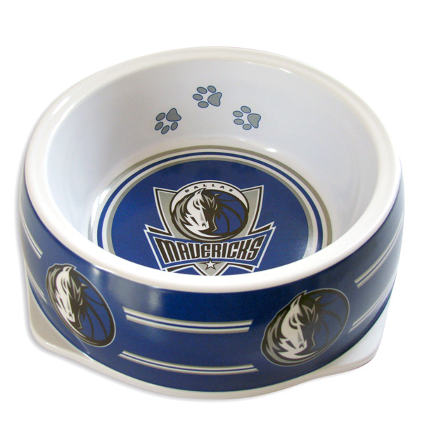 Dallas Mavericks Plastic Dog Bowl