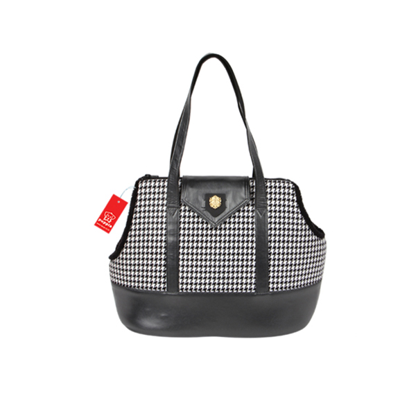 Darby Dog Carrier by Puppia - Black