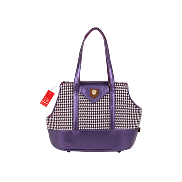 Darby Dog Carrier by Puppia - Purple