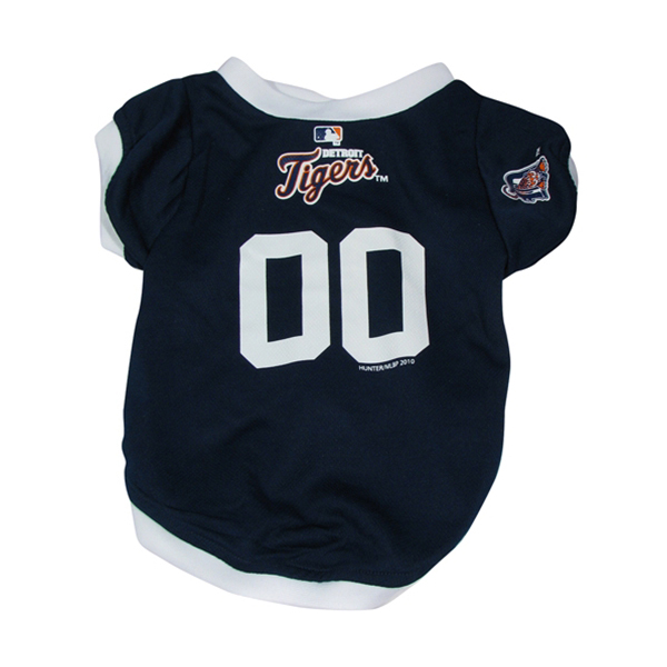 Detroit Tigers Baseball Dog Jersey