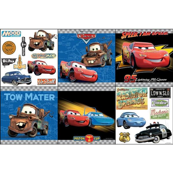 Disney Cars Bedroom Decor   Victory Lane Wall Decorating Kit At ToyStop