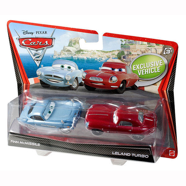 Cars 2 Spy Attack Finn Mcmissile: Finn McMissile And Leland Turbo Die