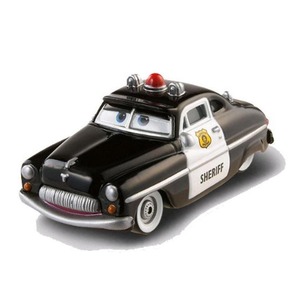 Car Toys Product : Disney cars toys wheel well motel sheriff at toystop