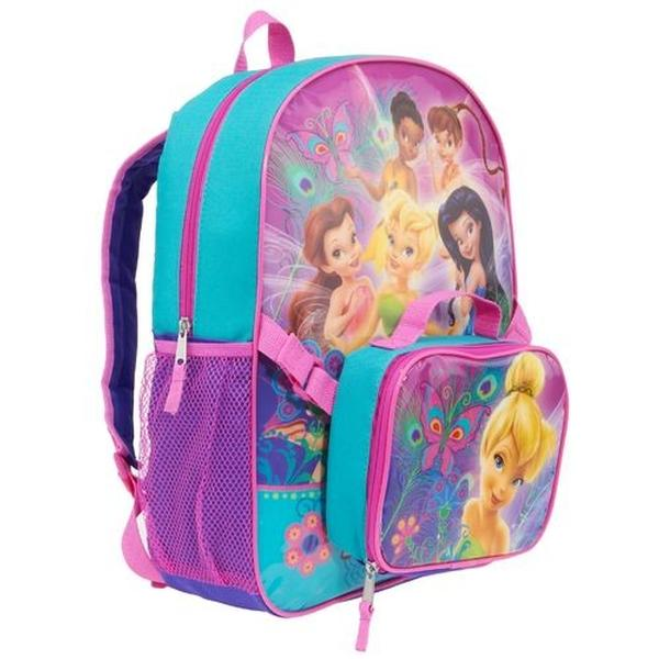 f0ed5aa717d Disney Fairies Backpacks - Tinkerbell   Friends Backpack with Lunch Kit at  ToyStop