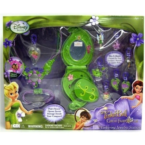 Tinker Toys For Boys : Disney fairies toys tinkering jewelry station at toystop