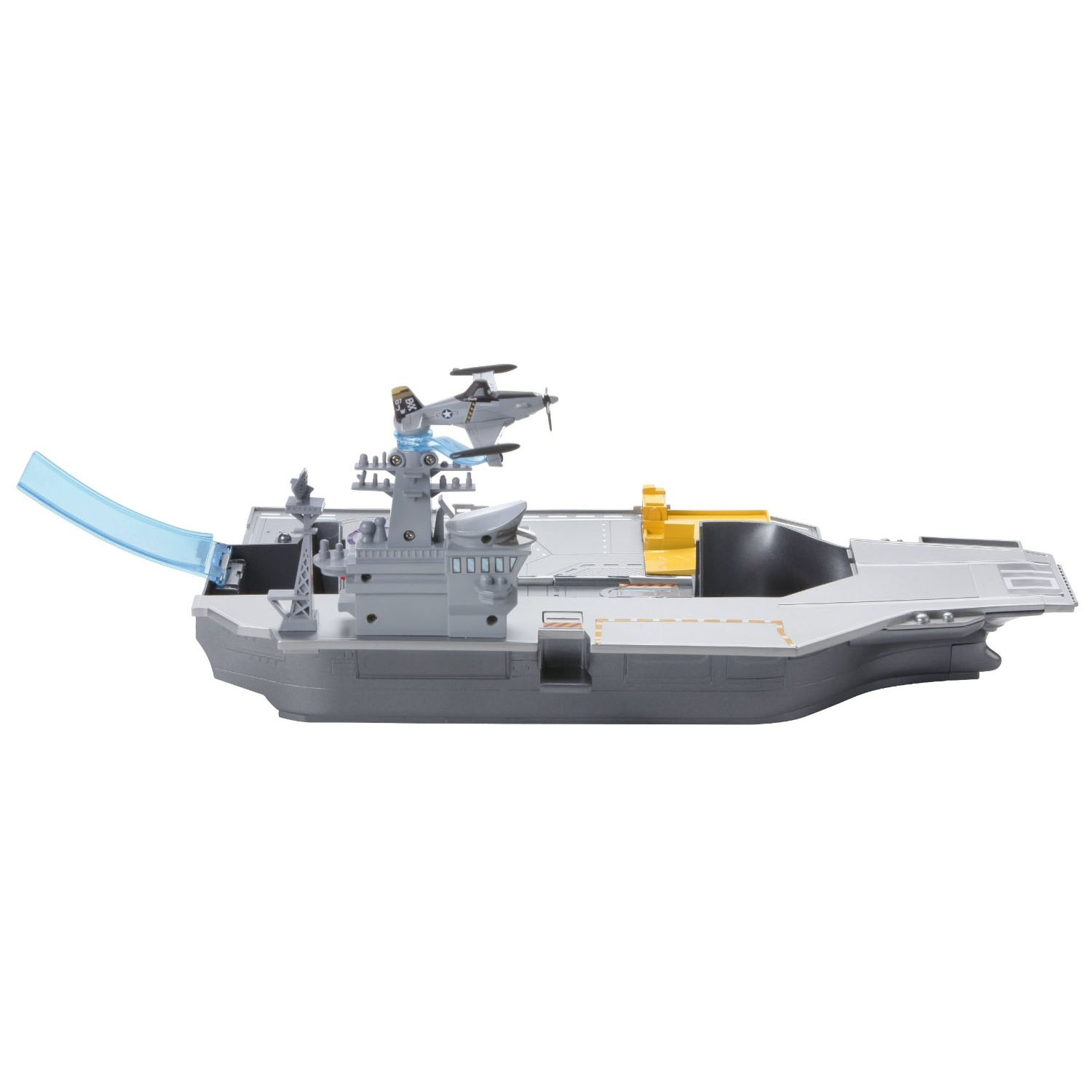 Mattel Disney Planes Aircraft Carrier Playset Including 8 Characters