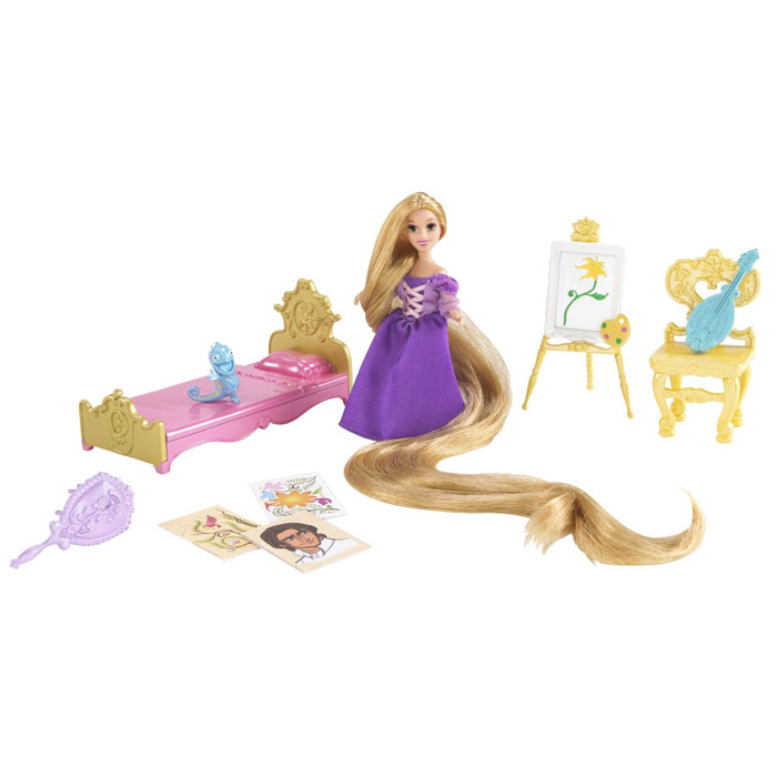 Disney Princess Toys - Rapunzel Tower Treasures and Furniture Playset at ToyStop  sc 1 st  ToyStop & Disney Princess Toys - Rapunzel Tower Treasures and Furniture ...