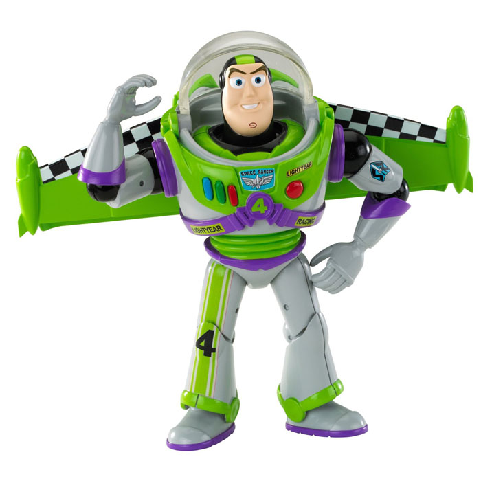 sc 1 st  ToyStop & Toy Story Toys - Buzz Lightyear Race Deluxe Figure at ToyStop