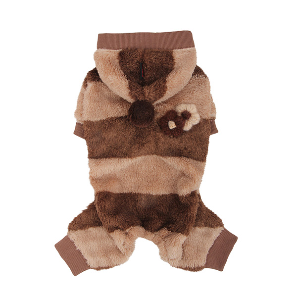 Dodo Dog Jumpsuit by Puppia - Brown
