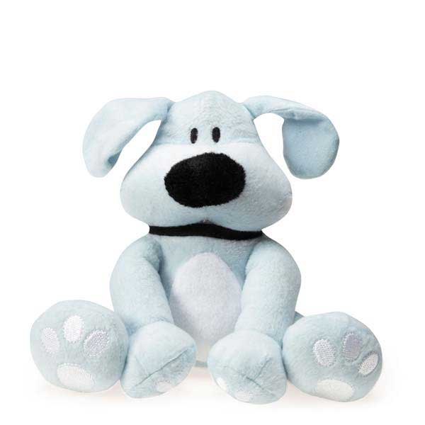 Dog is Good Bolo Plush Dog Toy - Light Blue