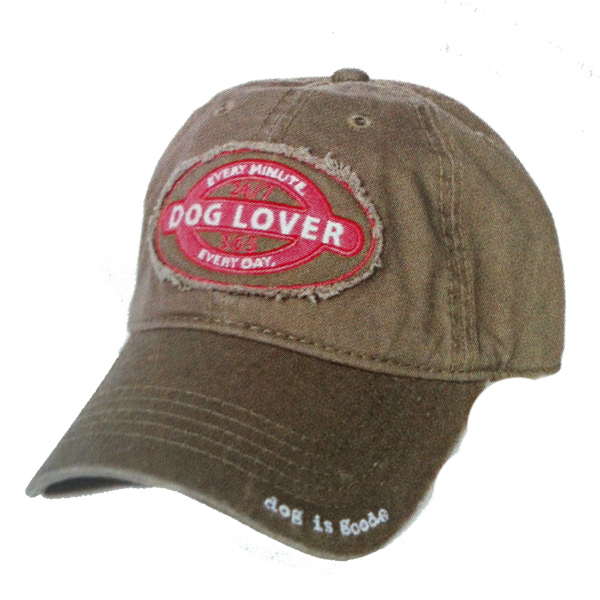 Dog is Good Dog Lover Human Cap