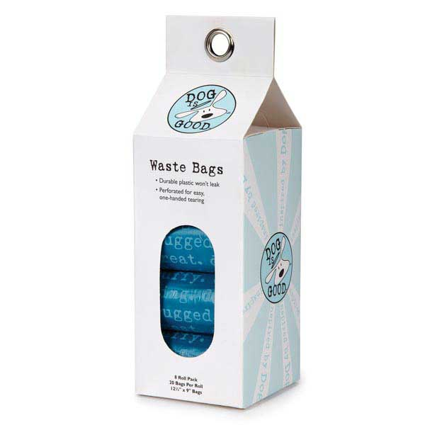 Dog is Good Dogism Dog Waste Bag Refills - Ocean