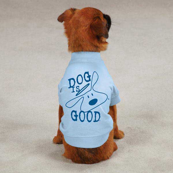 Dog is Good Solid Bolo Dog T-Shirt - Angel Falls
