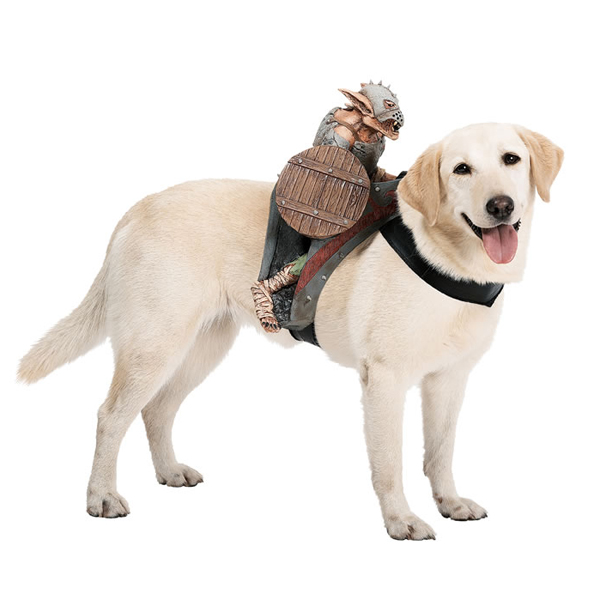 Dog Riders Harness Halloween Costume - Goblin