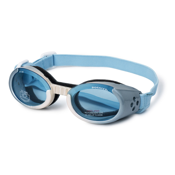 Doggles - ILS Ice Blue/Pearl Frame with Light Blue Lens