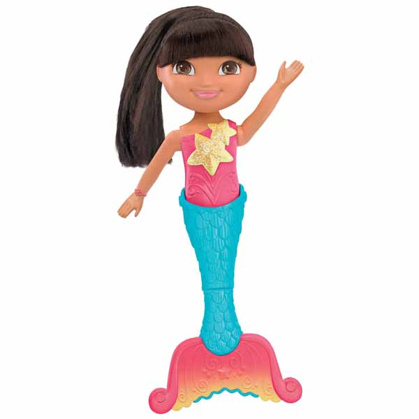 Dora The Explorer Toys Dive And Swim Mermaid Dora Doll At Toystop