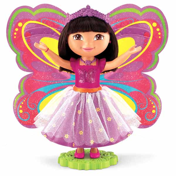 Dora Toys For Girls : Dora the explorer toys magical fairy doll at toystop