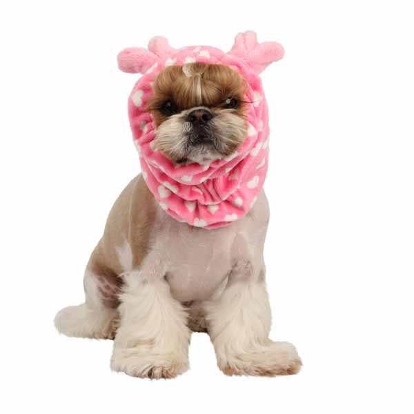 Dreamy Dog Snood by Pinkaholic - Pink