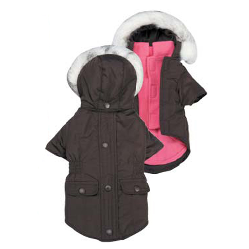 3-in-1 Eskimo Dog Jacket - Brown
