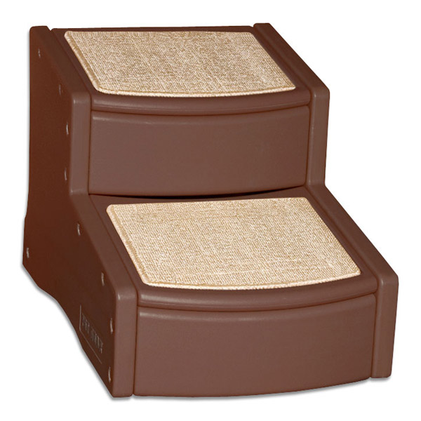 Easy Step Pet Stairs - Chocolate