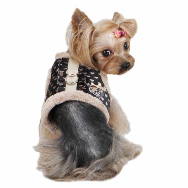 Elfish Dog Harness by Pinkaholic - Beige