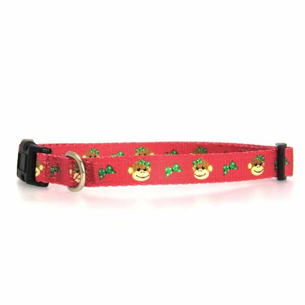 Holiday Monkey Business Dog Collar - Tiff
