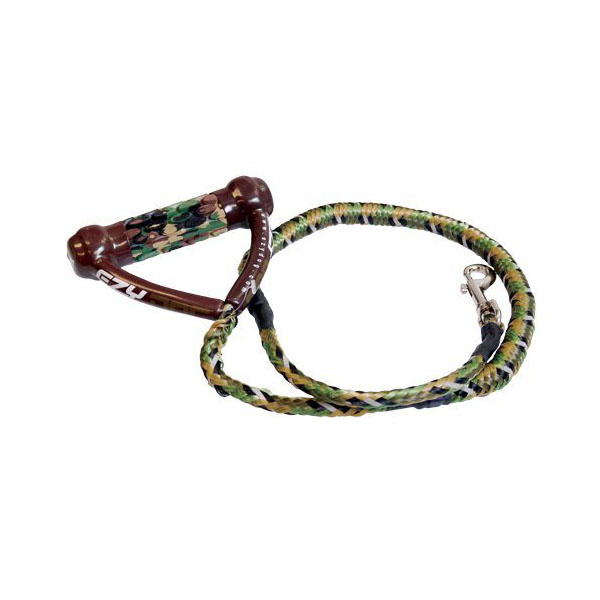 EzyDog Cujo Shock Absorbing Dog Leash - Green Camo