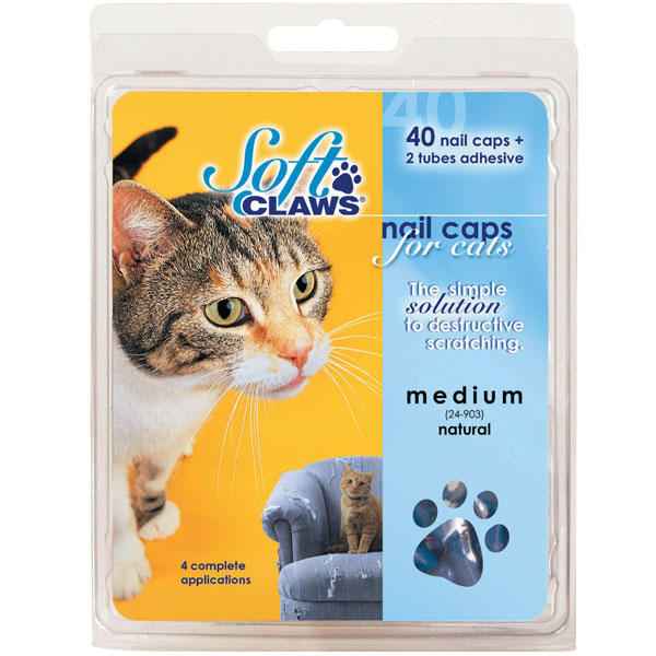 Feline Soft Claws Nail Caps Home Kit - Purple