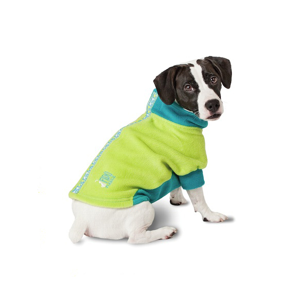 Fido Fleece Limey Bones Dog Coat