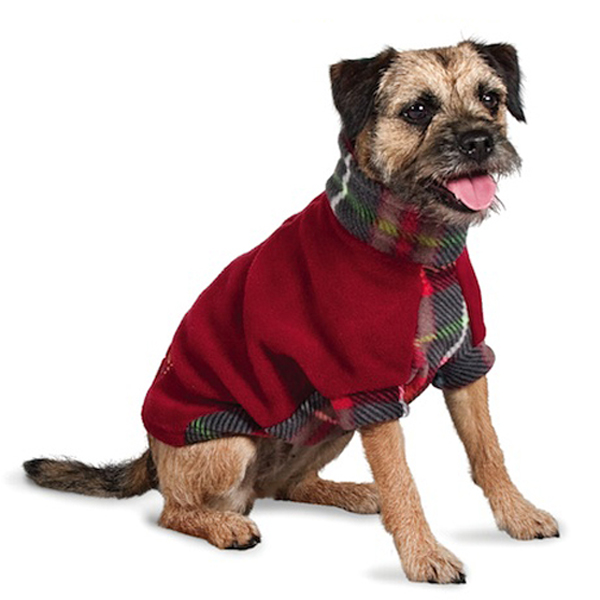 Fido Fleece MacDawg Plaid Dog Coat | BaxterBoo