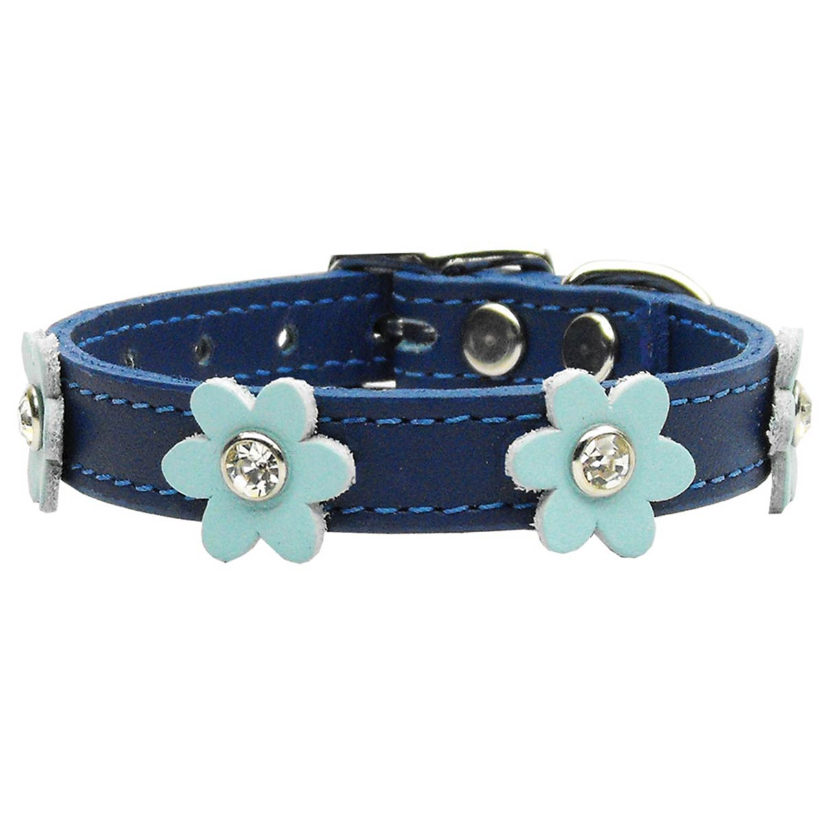 The Control of Dogs Order states that all dogs need to wear a collar with the owner's name and address. Personalised embroidered dog collars fall short of this requirement because most can only fit a phone number and a name.