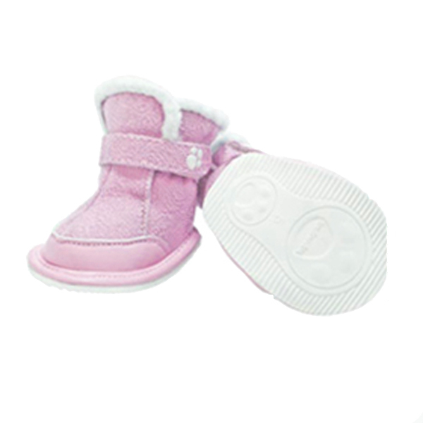 FouFou Duggz Dog Shoes - Baby Pink