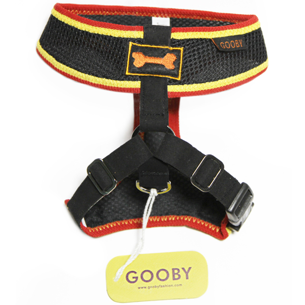 Freedom Sport Dog Harness by Gooby - Black/Yellow