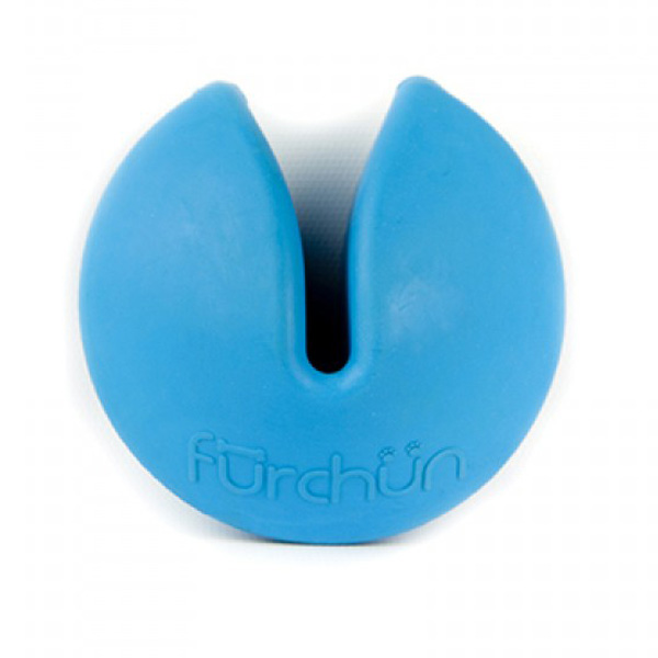 Furchin Cookie Dog Toy - Blue