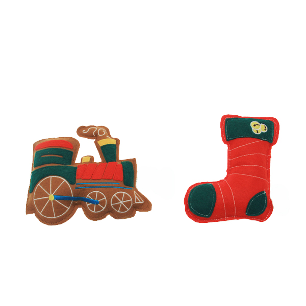 Gingerbread Cookies Dog Toy Set