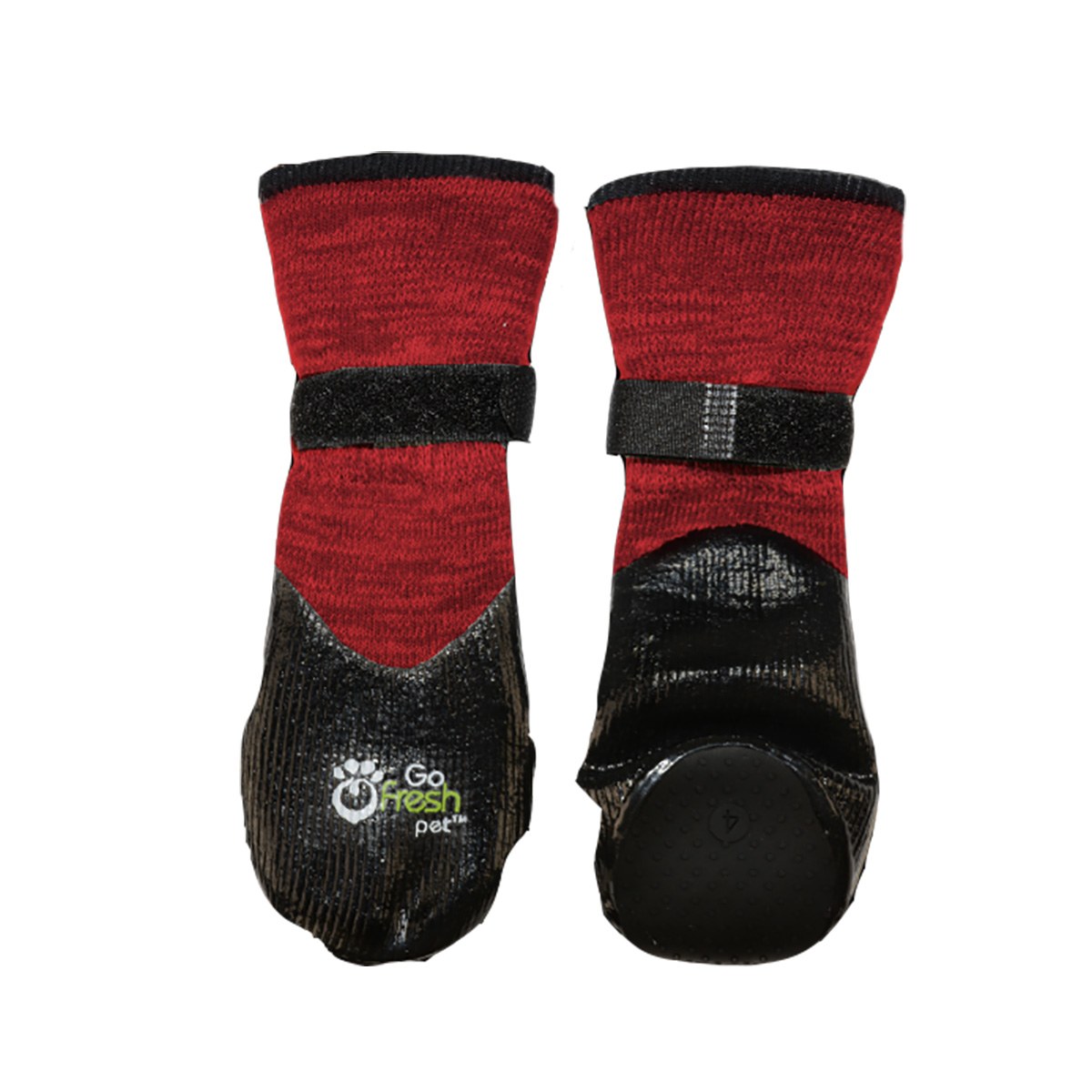 Go Fresh Pet All Terrain Dog Booteez Scarlet Red With