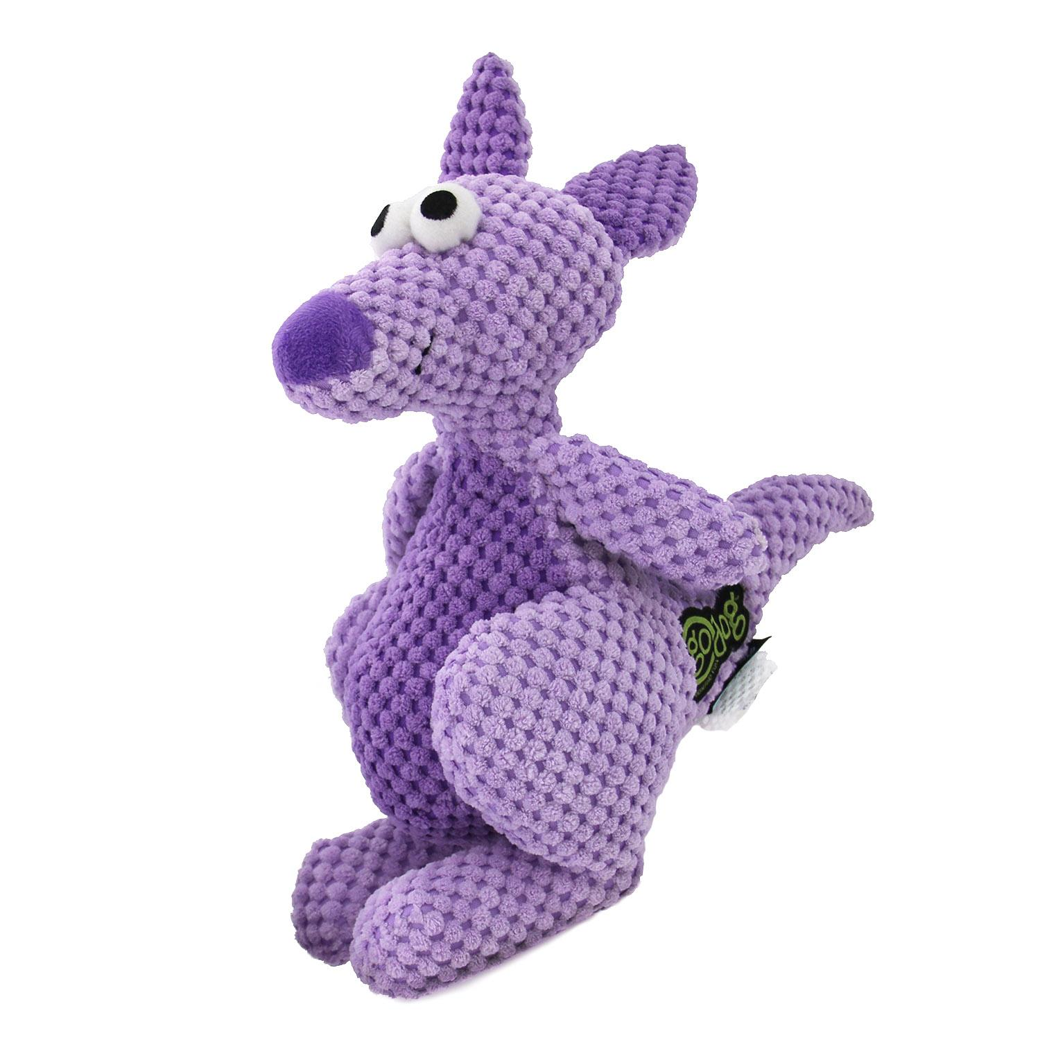 GoDog Checkers Kangaroo Dog Toy