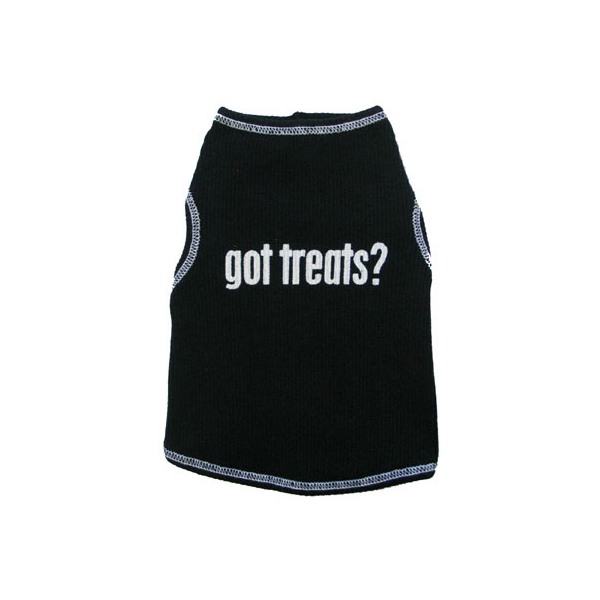 Got Treats Ribbed Dog Tank Top