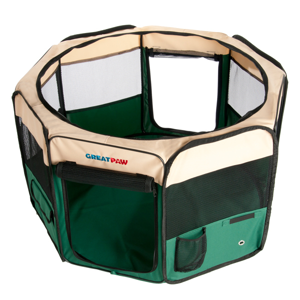Great Paw Hideaway Pet Play Pen