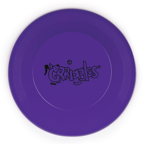 Grriggles Flying Disc Dog Toys - Ultra Violet