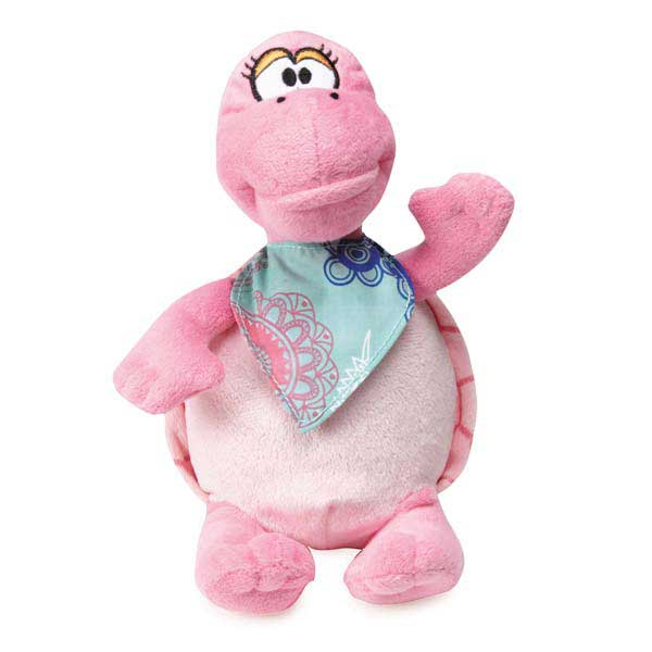 Grriggles Fresh Water Turtles Dog Toy - Pink