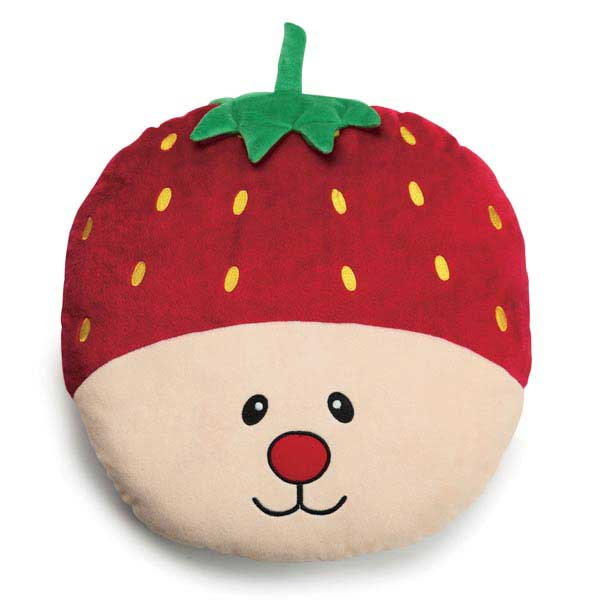 Grriggles Fruities Dog Toy - Strawberry